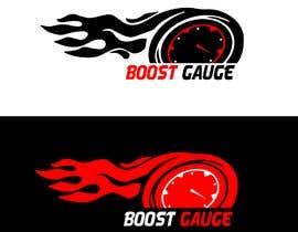 "#20 for LOGO Inspired of a ""boost gauge"" af Newjoyet"