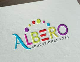 #72 för Design a Logo - Albero Educational Toys av JohnDigiTech