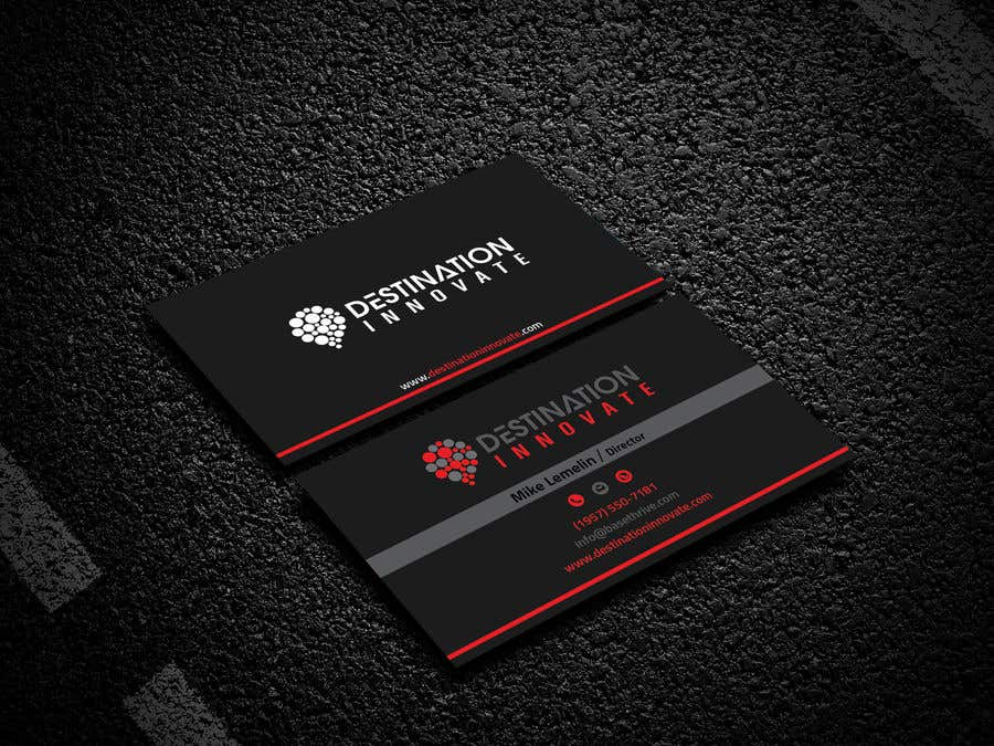 Entry #141 by Monirjoy for Need an amazing business card design ...