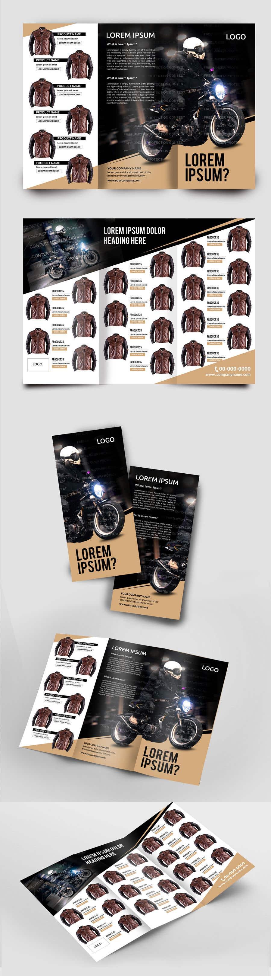 Penyertaan Peraduan #37 untuk motorbike clothing catalog