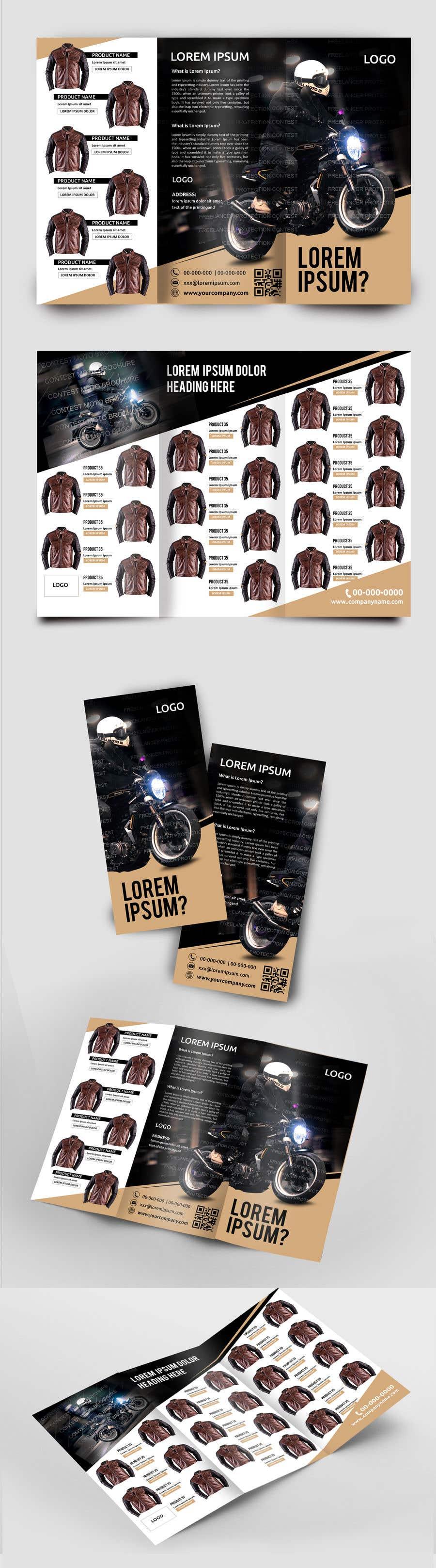 Penyertaan Peraduan #44 untuk motorbike clothing catalog