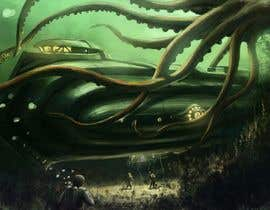 #17 cho Create 5 images in a theme of horror movie giant octopus bởi Newjoyet