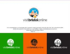 #5 para I need a logo created for a new website launching called visitbristolonline de rajputdstudio