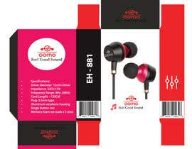 #9 for Create Clean Design For In Ear Headphones Packaging (Think Apple/Bose) af ahamediqbal1650
