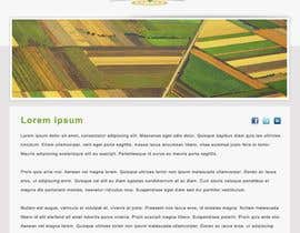 #61 for One page Brochure Site Design av linike