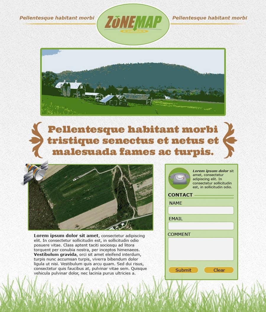 Конкурсная заявка №76 для One page Brochure Site Design