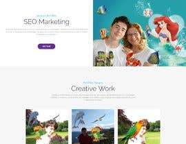 #26 for design single page web by DevAb