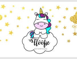 #4 for I would like a logo designed for a company. The name is Floofie Enterprises. I would like the colors used to be purple and light blue. Feel free to use glitter, butterflies and a unicorn in the design. by dileny