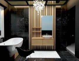 #10 for Interior design for bathroom by angimas
