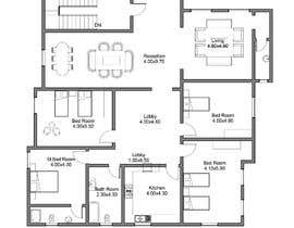 #10 for Make a house floor plan by arcalaamohamed