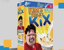 #6 untuk Designing cereal boxes -- 2 oleh eliartdesigns