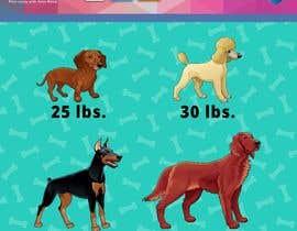 #33 untuk Dog Illustrations oleh BobNolan99