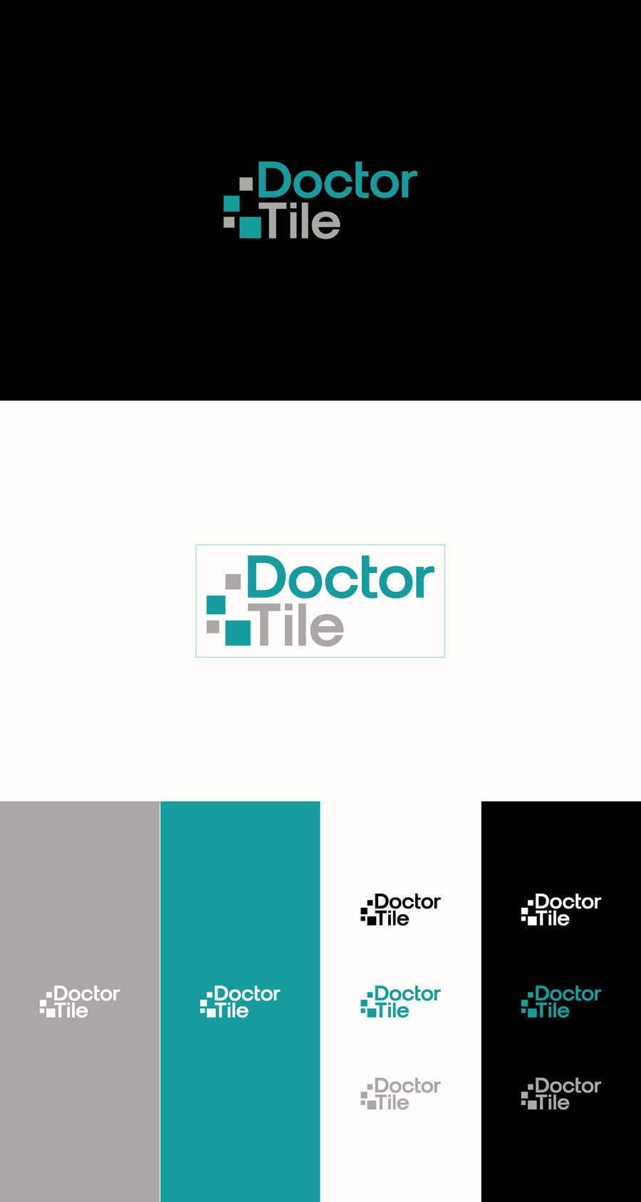 Contest Entry #11 for DoctorTile - Logo & Corporate Color Scheme