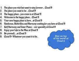 #89 for Catchy slogan for a company - Cloud 9 by jjcaldwell