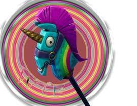 jonsgfx tarafından I need a logo illustration (Lama Unicorn) için no 1