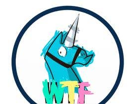 infiniteloops tarafından I need a logo illustration (Lama Unicorn) için no 4