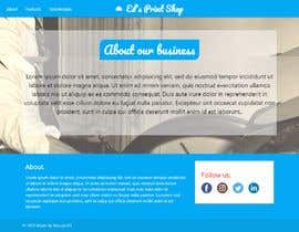#2 สำหรับ Build a website for a print shop โดย MouadKH