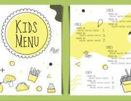 #15 for Kids Menu Design Templates af LaGogga