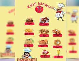 #16 for Kids Menu Design Templates by shumi82
