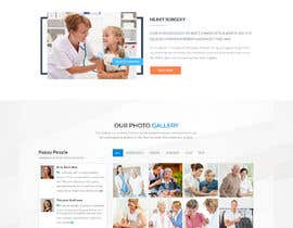 nº 23 pour Design a Home Page and Facilities page in Photoshop par minhajulfaruquee
