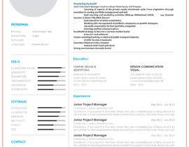 #14 for Improve Design (UX/UI) of CV ( Curriculum Vitae) in finance sektor by ElvoJake