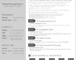 #24 for Improve Design (UX/UI) of CV ( Curriculum Vitae) in finance sektor by W3WEBHELP