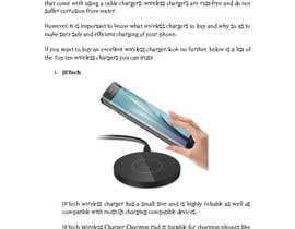 "#4 för Write an article titled ""10 Best Phone Wireless Chargers From Chinese Companies"". av supersystemng"