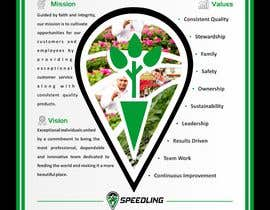 #52 for Speedling Mission Vision and Values Design by jamiu4luv