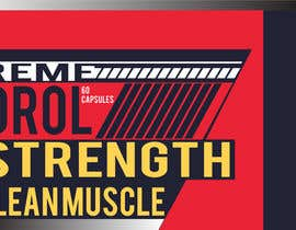 #4 for Create Label Theme for Bodybuilding Supplement Company by rieadhasan11