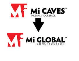 "#19 for I need a logo with the exact same as the attached ""Mi Caves"" logo but instead of ""Mi Caves"" it needs to say ""Mi Global Construction"" in the exact same font and boldness by Mostafiz600"