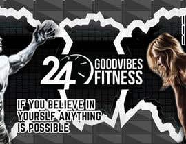 #6 for Design graffiti art for a gym wall af Mridullathi92