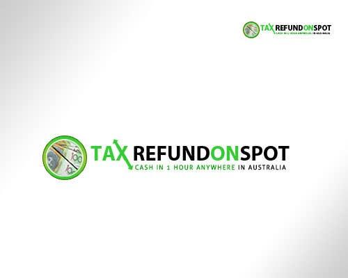 Bài tham dự cuộc thi #107 cho Logo Design for Tax Refund On Spot