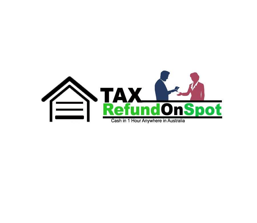 Konkurrenceindlæg #106 for Logo Design for Tax Refund On Spot