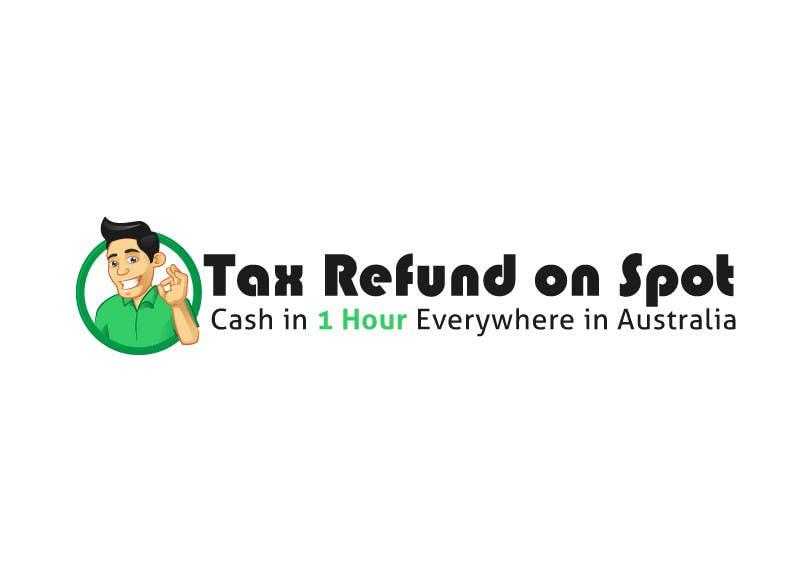 Konkurrenceindlæg #74 for Logo Design for Tax Refund On Spot