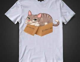 #58 for Draw A Cute Cat T-Shirt Design by mourysadia