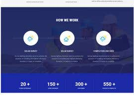 #11 , Solar Energy Landing Page with Lead gen form and Description page 来自 anshuchauhan12