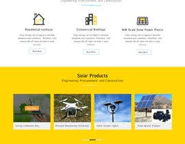 #15 , Solar Energy Landing Page with Lead gen form and Description page 来自 XD12jalandhar