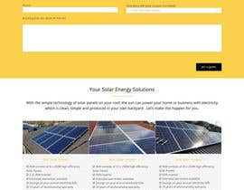 #12 , Solar Energy Landing Page with Lead gen form and Description page 来自 webexpert0102