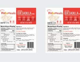#26 for Design a Food Label for a Meal Prep Company by Hrhasan36