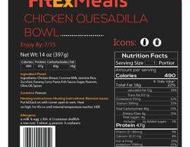 #23 for Design a Food Label for a Meal Prep Company af Mahbub33