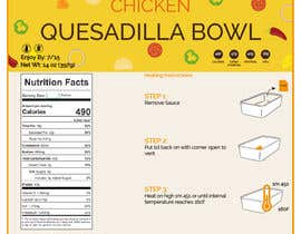 #25 for Design a Food Label for a Meal Prep Company af neetica74