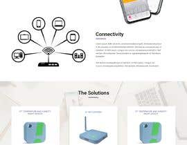 webmastersud tarafından Design a Website Mockup for a temperature monitoring app için no 4