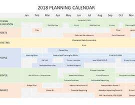 #1 for PowerPoint Planning Calendar by Ga1ina