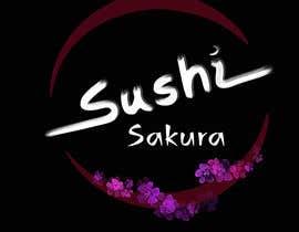 karinakanai tarafından Illustrate a Logo Sushi Sakura için no 20
