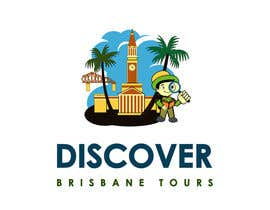 #277 para Logo Design for Discover Brisbane Tours por sat01680