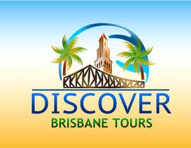 #294 para Logo Design for Discover Brisbane Tours por desbutterfly