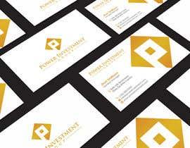 nº 22 pour Design some Business Cards for investor company par aminur33