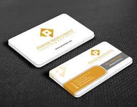 nº 76 pour Design some Business Cards for investor company par mamun313
