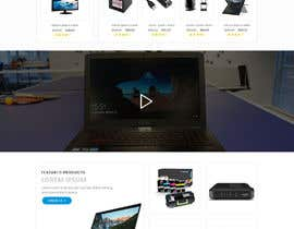 #8 untuk Design a Website Landing page for a Tech Retail store. oleh sudpixel