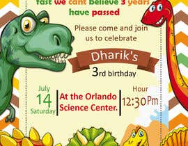 #25 for Kid's birthday party invitation by marianayepez